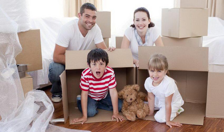 מעבר דירה עם ילדים